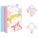 Großhandel Geschenkverpackung: Little Cooks Geschenktüte 8-tlg