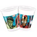 Avengers , tazze di plastica Avengers 8 pezzi da 2