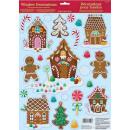 Gingerbread House Window Sticker