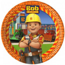 Bob the Builder , Bob, the master Paper Plate 8pcs