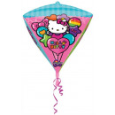 Hello Kitty Foil balloon with diamond shape 43 cm