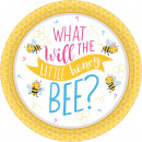 Bee, Bee Paper Plate with 8 pcs 18 cm