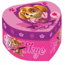 Jewellery Box  Heart Shaped Paw Patrol