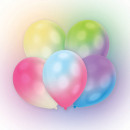Illuminated LED Balloon with Balloons 12in 11inch