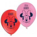 mayorista Articulos de fiesta: DisneyMinnie globo, globos 8 piezas