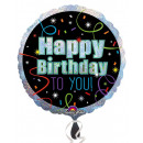 Happy Birthday Folienballons