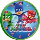 Wall Clock PJ Masks, Piss Heroes 25cm