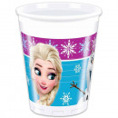 Disney frozen , Ice Magic Plastic cup 8 pcs