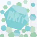 Party napkin with 16 pcs 33 * 33 cm
