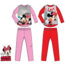 Dzieci długo piżama Disney Myszka Minnie 3-8 lat