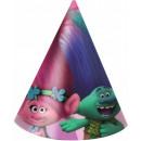 Trolls , Trolls Party hat, chunky 6 pcs