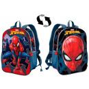 Two-sided schoolbag, bag Spiderman , Spiderman