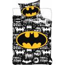 Bettwäsche Batman 160 × 200 cm, 70 × 80 cm
