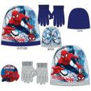 Kinderen mutsen en  handschoenen set Spiderman, Spi