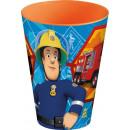 Fireman Sam , Sam's vuurkist, plastic 430 ml