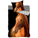 Equestrian bedding 140 × 200cm, 70 × 90 cm
