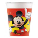 Disney Mickey Pals at Play Paper Glass with 8 piec