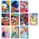 Disney brokatowa kartka z życzeniami + koperta