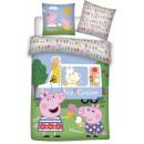 Świnka Peppa Pościel dziecięca 100 × 135 cm