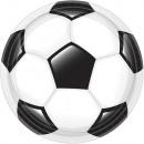 Football Goal, Football Soccer Plate 8 pcs 23 cm