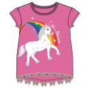 Emoji Unicorn Kids short t-shirt, top 3-8 years