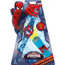 Digital Watch + LED Flashlight Spiderman