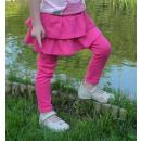 hurtownia Odziez dla dzieci i niemowlat: Dzieci 92-98cm  różowa spódnica i legginsy w jednym