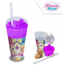 Shampoo and snack holder Shimmer and Shine 500m