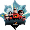 The Incredibles, The Incredible Family Foil Ball 8