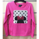 DisneyMinnie kid sequin long sleeve t-shirt