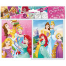 Coloring Notebook Stickers with Disney Princess