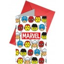 wholesale Licensed Products: Avengers , Odds Party Invitation 6 pcs