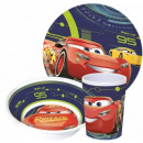 Kitchenware, melamine set for Disney Cars , Verdas