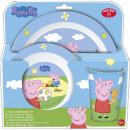 Großhandel Haushalt & Küche: Peppa Pig Geschirr, Mikroplastik-Set