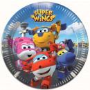 Super Wings Paper Plate 8 pcs 19.5 cm