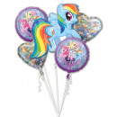 My Little Pony Foil Balloons Set 5 Pieces