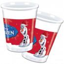 ingrosso Prodotti con Licenza (Licensing): Disney frozen , surgelati tazze di plastica 8 pezz