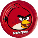 Angry Birds Paper Plate 8 x 23 cm