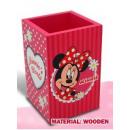 mayorista Material escolar: Portalápices de madera Disney Minni