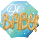 Blue Baby Boy Fólia lufi 76 cm