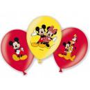 groothandel Licentie artikelen: Disney Mickey ballon, ballonnen 6 stuks
