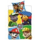 Narzuta na łóżko Psi Patrol 155 x 200 cm, 50 x 80