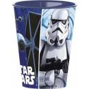 Star Wars glass, plastic 260 ml