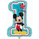 Disney Mickey First Birthday Foil Balloons 71 cm