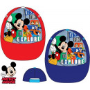DisneyMickey dziecięca czapka z daszkiem 52-54 cm
