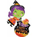 Witch, Witch Foil Balloons 71 cm
