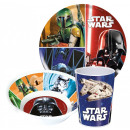 Star Wars tableware, melamine set