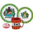 groothandel Licentie artikelen: Minecraft serviesgoed, micro plastic set