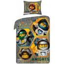 Lego Knights ágyneműhuzat 140×200cm, 70×90 cm