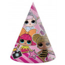 LOL Surprise Party hat, 6 pieces